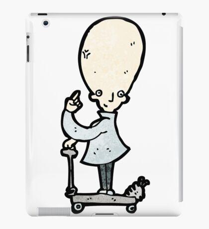 genius scientist cartoon iPad Case/Skin