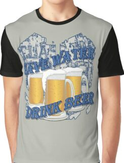Save Water, Drink Beer Graphic T-Shirt