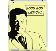 Good God Lemon iPad Case/Skin