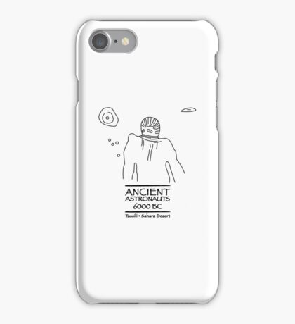Ancient Astronauts Tassili 6000 BC iPhone Case/Skin