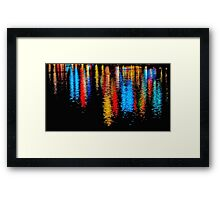 Reflected Lights Framed Print