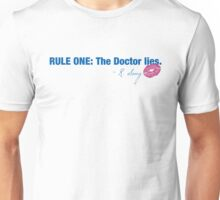 Doctor Who - Rule One Unisex T-Shirt