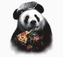 PANDA LOVES PIZZA T-Shirt