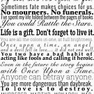 Quotes - Collection of Young Adult Book Quotes by Cait Jacobs