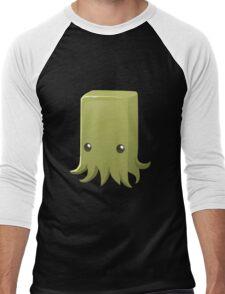 Glitch Inhabitants npc squid Men's Baseball ¾ T-Shirt