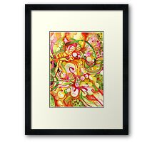 Sunlight Is Free (If You Live At The Top) - Watercolor Art Framed Print