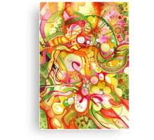Sunlight Is Free (If You Live At The Top) - Watercolor Art Canvas Print
