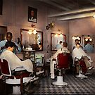 Barber - Senators-only barbershop 1937 by Mike  Savad
