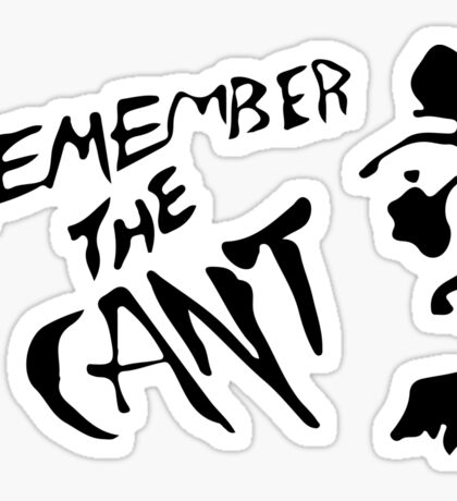 RememberTheCant (The Expanse) #2 Sticker