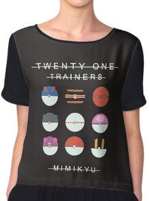 Pokemon x Twenty One Pilots - Blurryface x Mimikyu Chiffon Top