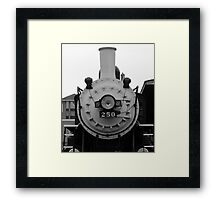 Front of Train Framed Print