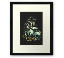 Black Out Framed Print