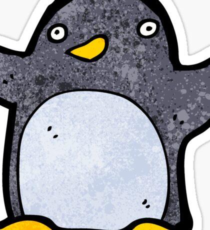 cute cartoon penguin Sticker