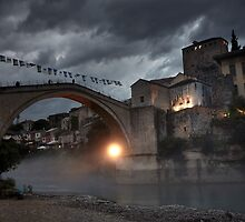 The Old Town of Mostar in Bosnia & Herzegovina by thewaxmuseum