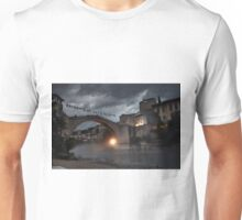 The Old Town of Mostar in Bosnia & Herzegovina Unisex T-Shirt