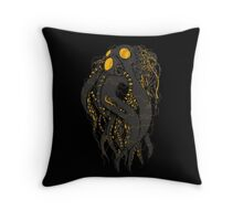 Octobot Throw Pillow