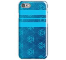 Quilted Blue Pattern iPhone Case/Skin