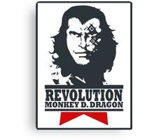 Monkey D. Dragon X Che 2.0 Canvas Print