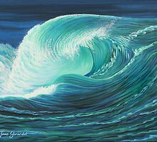 Stormy Wave by Jane Girardot