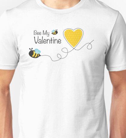 Bee My Valentine Unisex T-Shirt