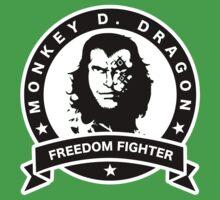 Monkey D. Dragon X Che One Piece - Short Sleeve