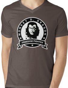 Monkey D. Dragon X Che Mens V-Neck T-Shirt