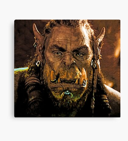 Warcraft Canvas Print