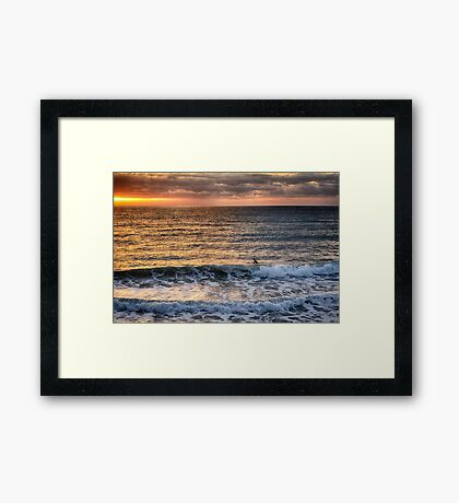 San Clemente in December Framed Print