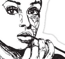 Icon: Audrey Hepburn Sticker