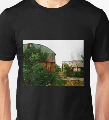 Abandoned barns, Donegal, Ireland Unisex T-Shirt