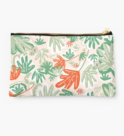 Abstract Tropical Pattern Studio Pouch