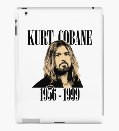Kurt Cobain Memorial Tee iPad Case/Skin
