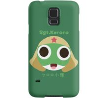 Sgt.Keroro Head  Samsung Galaxy Case/Skin