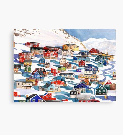 Qaqortoq Canvas Print