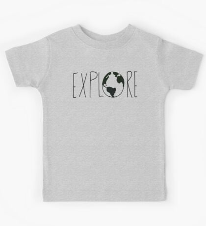 Explore the Globe Kids Tee
