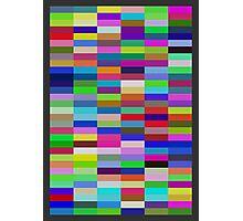 Pi Chart, Blocks Photographic Print
