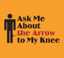Skyrim - Ask Me About the Arrow (male) T-Shirt