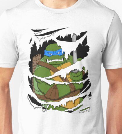 Leonardo Shreds Through Unisex T-Shirt
