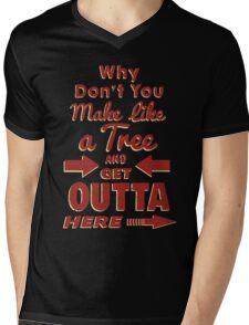 The Immortal Words of Biff Tannen Mens V-Neck T-Shirt
