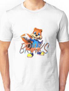 Brinks' Bad Fur Day Unisex T-Shirt