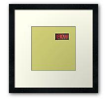 VENKMAN Framed Print