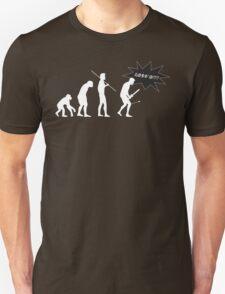Skyrim - I Evolved Until... on dark T-Shirt