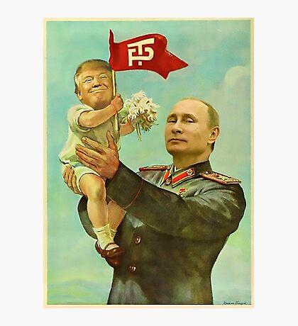 Baby Trump Photographic Print