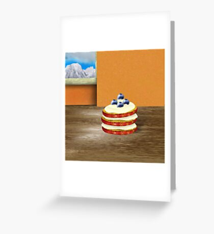 Baked apple stack Greeting Card