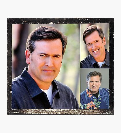 Bruce Campbell Photographic Print