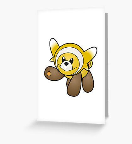 Shiny Stufful Greeting Card