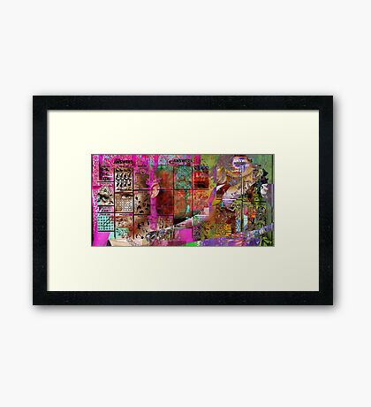 Searching for Answers in January, 2017  Framed Print