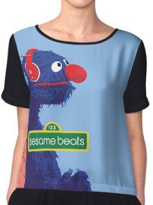 Sesame Beats Chiffon Top