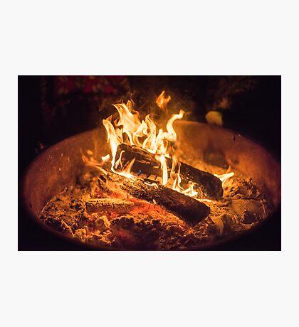 Campfire Nights Photographic Print