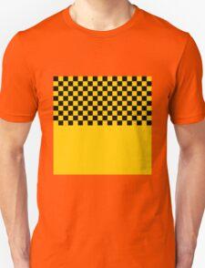 CHECKERBOARD-CAB YELLOW T-Shirt